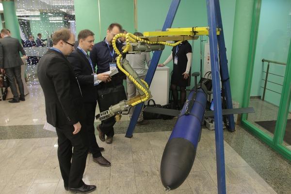 В дни конференции вООО«Газпром ВНИИГАЗ» работала выставка «Техника итехнология освоения морских месторождений»