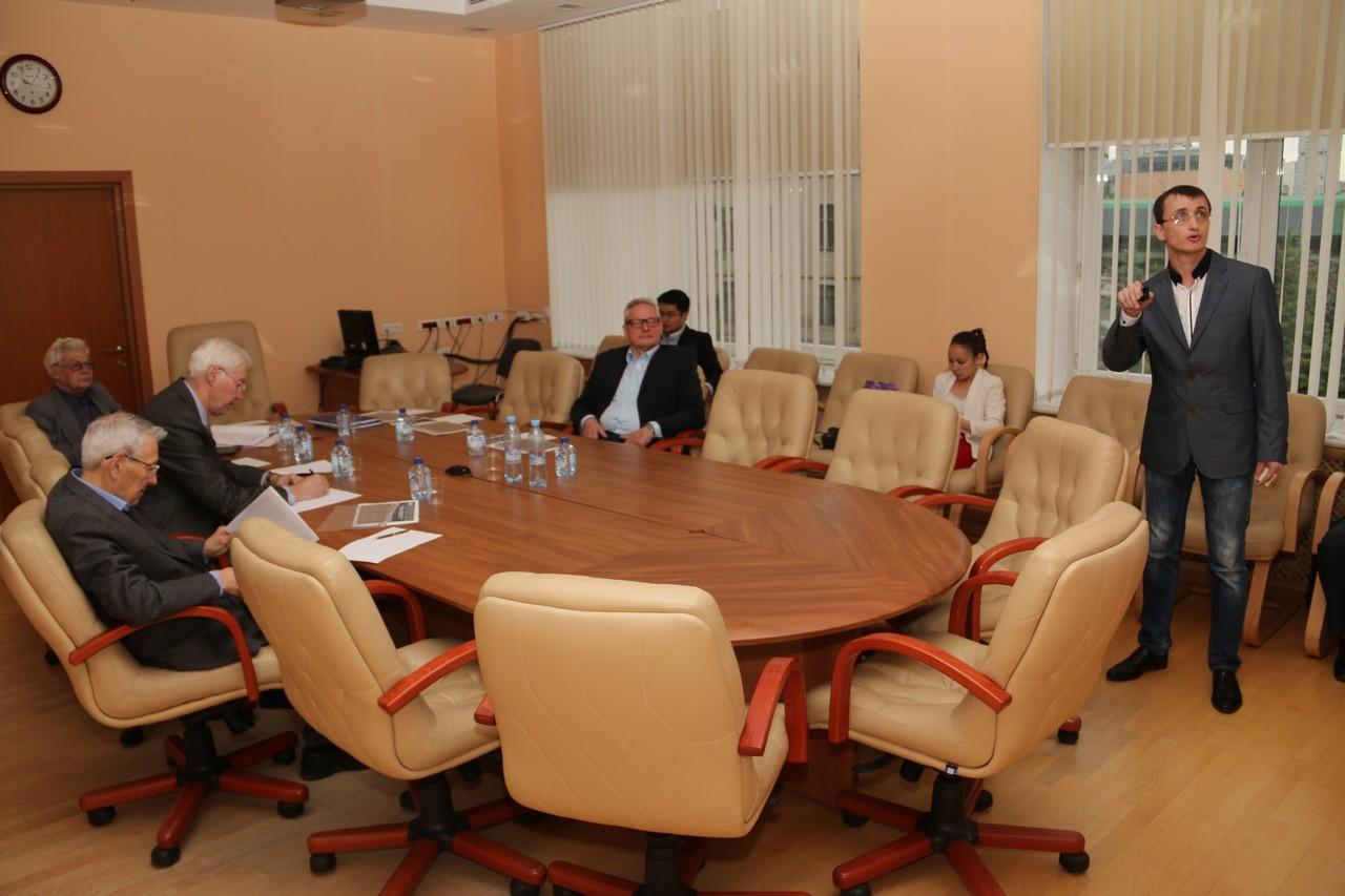 В ООО Газпром ВНИИГАЗ состоялась защита магистерских диссертаций  Защита магистерской диссертации Константином Полоусовым